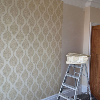 wallpapering projects